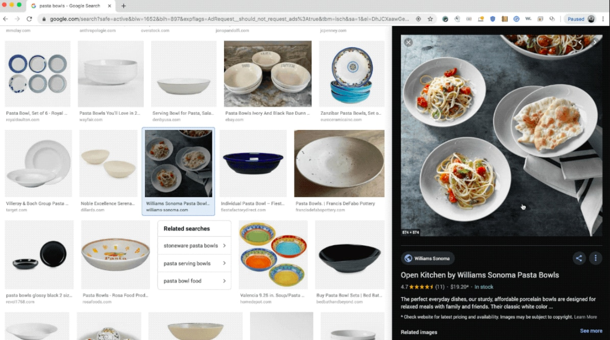Google Images Section Updated to Focus on Shopping