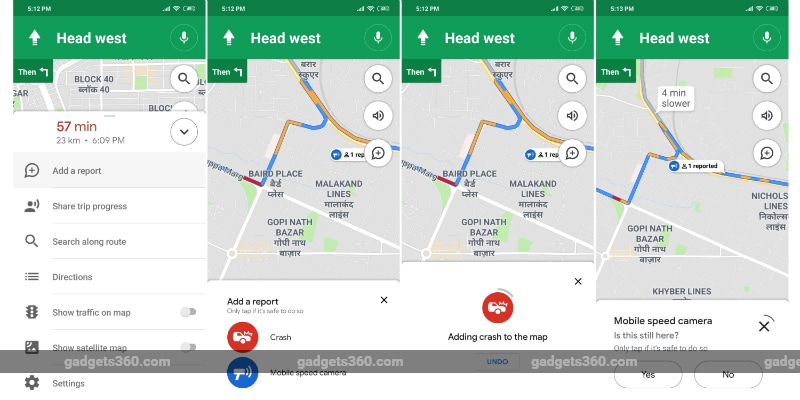 Google Maps for Android Now Lets You Report Accidents, Speed