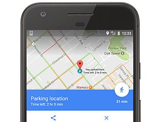 Google Maps Now Lets You Save Your Parking Location