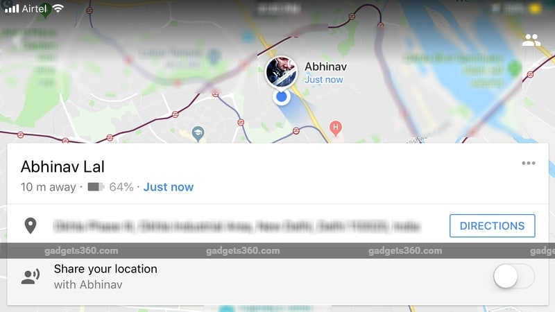 Google Maps Starts Sharing Phone Battery Life When Users Share Their Location