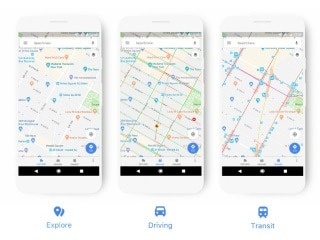 Google Maps Redesigned With the Aim of Highlighting Important Information