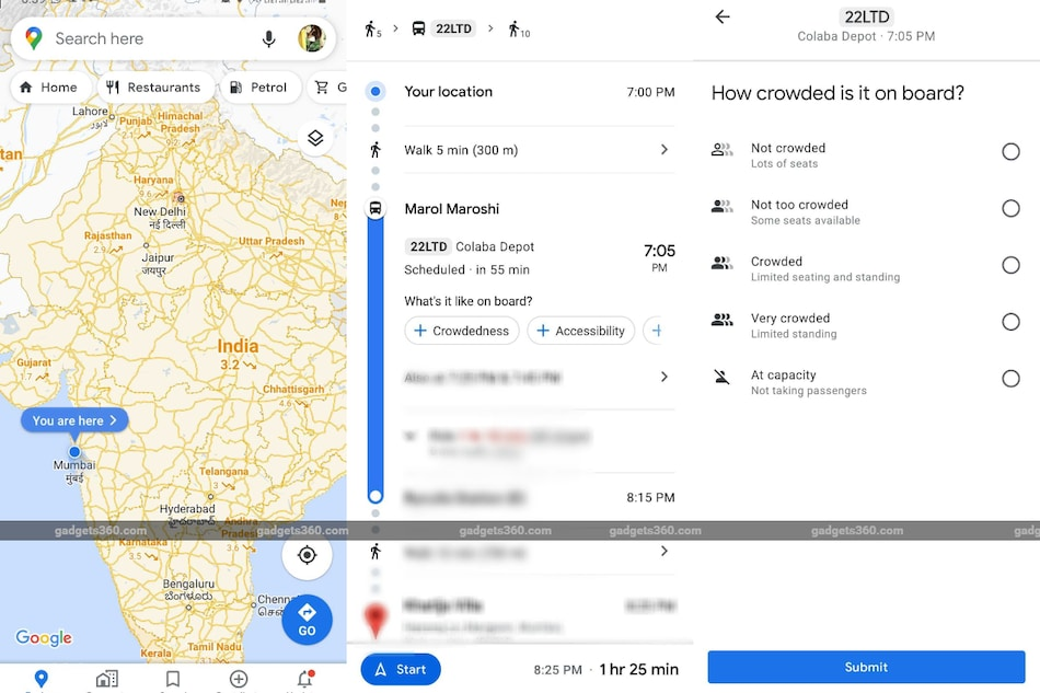 Google Maps Expands Regional Covid 19 Details As Cases Increase Live Crowd Feature Added In Public Transport Technology News