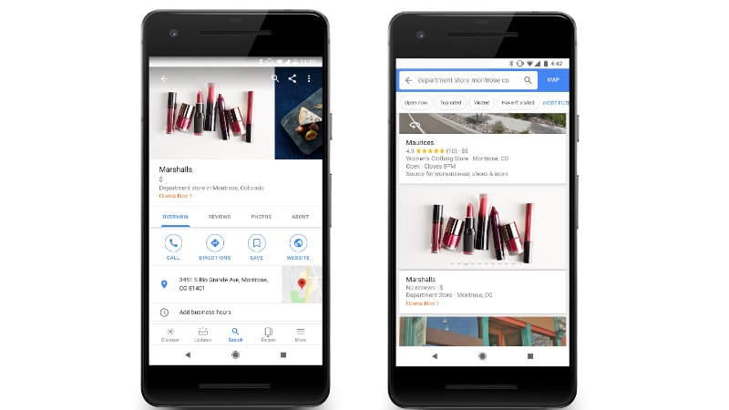 Google Maps Now Has a Follow Button to Get Updates From Businesses; Google Lens Comes to Mobile Web