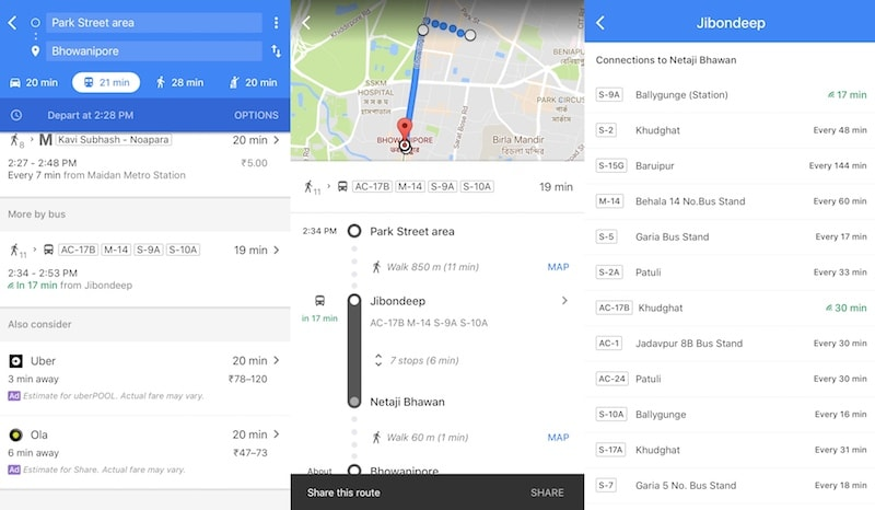 Google Maps Gets Real-Time Bus Information in India ... on world time map, nist time map, google time clock, google time logo, zong time map, google maps street view 2012, google time diagram, tv time map,