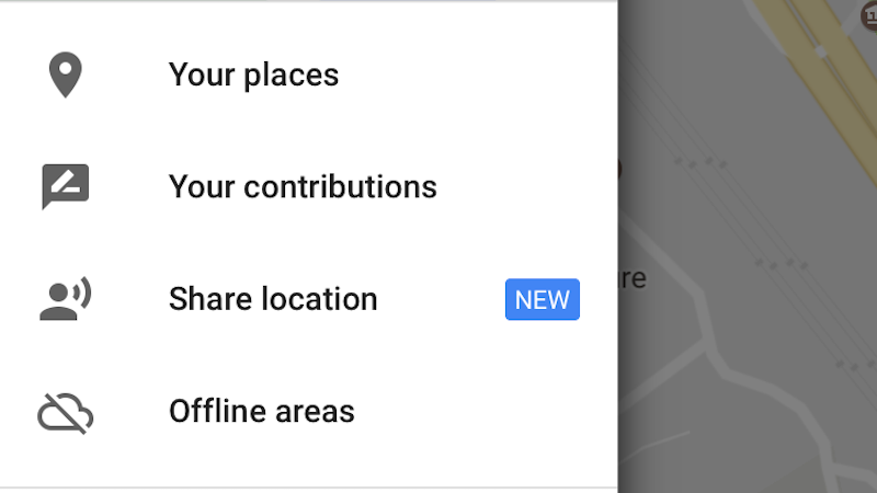 google maps share location google maps