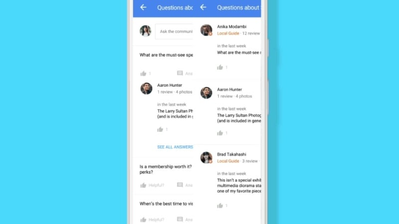 Google Maps और Search में अब करें सवाल-जवाब, नया फ़ीचर हुआ लॉन्च