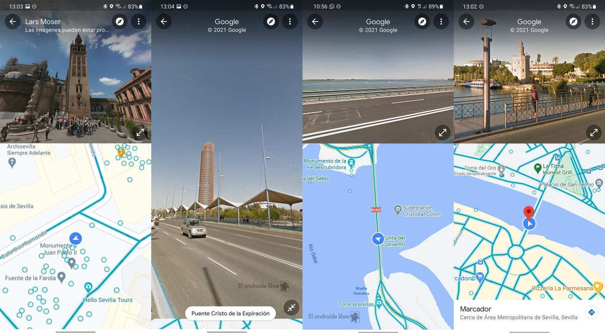 Google Maps Street View gets split-screen UI on Android