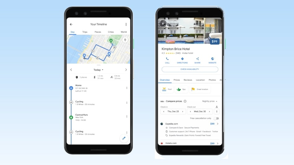 Google Maps Timeline Getting a New Trips Tab on Android, Shows a Summary of Past Vacations