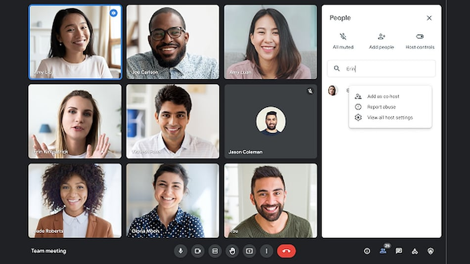 Google Meet Sessions Can Now Have 25 Co-Hosts; Gets New Quick Access Settings, More