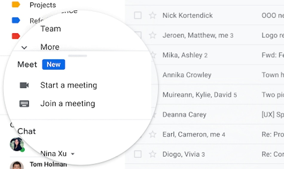 Google May Integrate Chat into Gmail Apps for Android, iOS