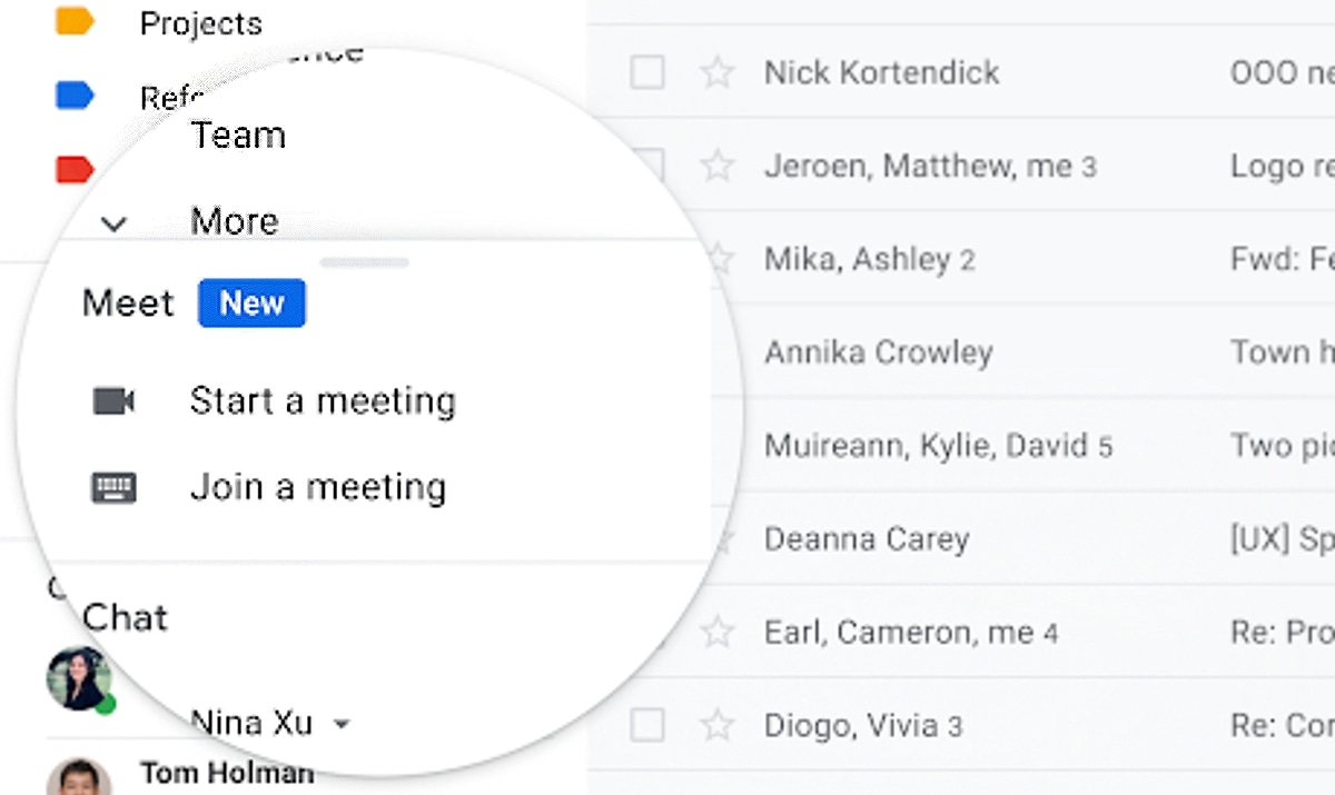 Google Meet Can Now Be Accessed via Gmail as Google Pushes Back on Zoom