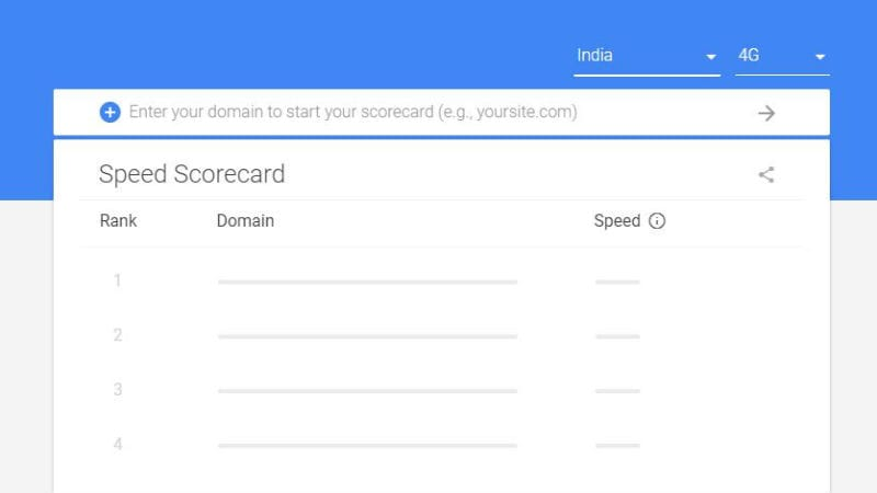 Google Speed Scorecard, Impact Calculator Tools Launched at MWC 2018 to Help Better Page Speed on Mobiles