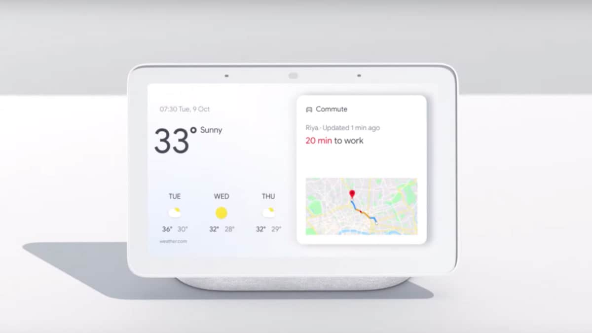 Google Nest Hub Smart Display With Touchscreen Built In Speaker Launched In India At Rs 9 999 Technology News