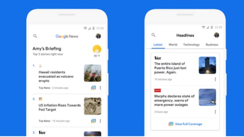 Google News Gets Data-Saving Features for Android Go, Low Data Bandwidth Users