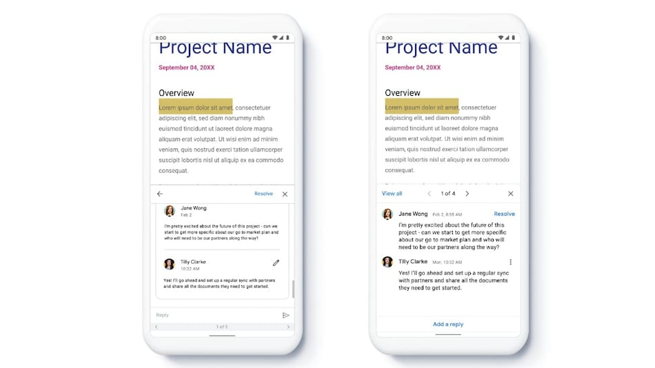 Google Docs, Sheets, Slides Apps Getting New Features to Improve Content Creation, Collaboration on Mobile