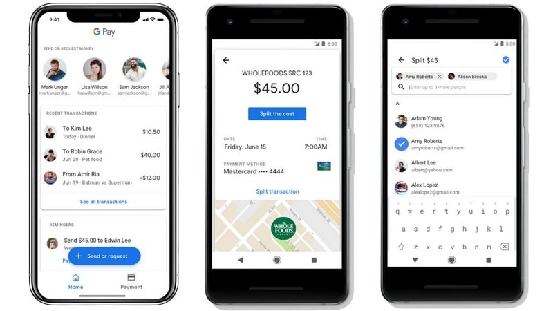 Google Pay Gets Peer-to-Peer Payments, Lets You Save Concert Tickets and Boarding Passes