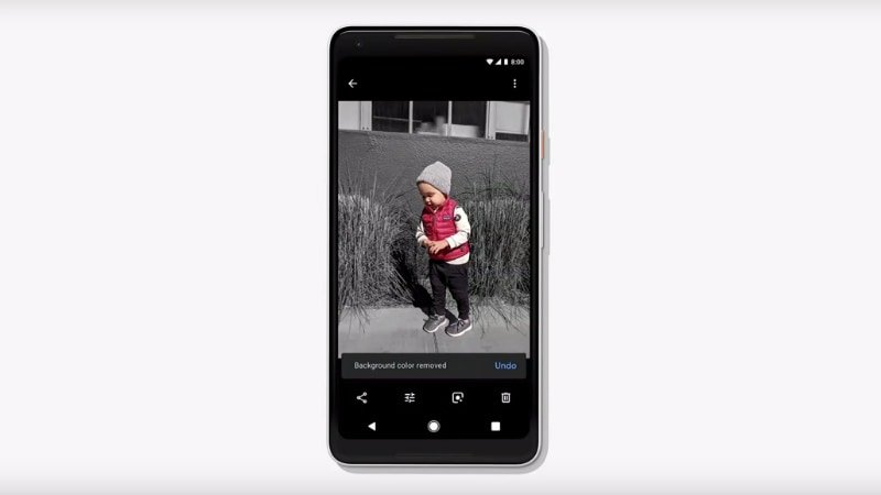 Google Photos Now Offering 'Color Pop' Feature to Some Users, Object-Removal Tech Delayed