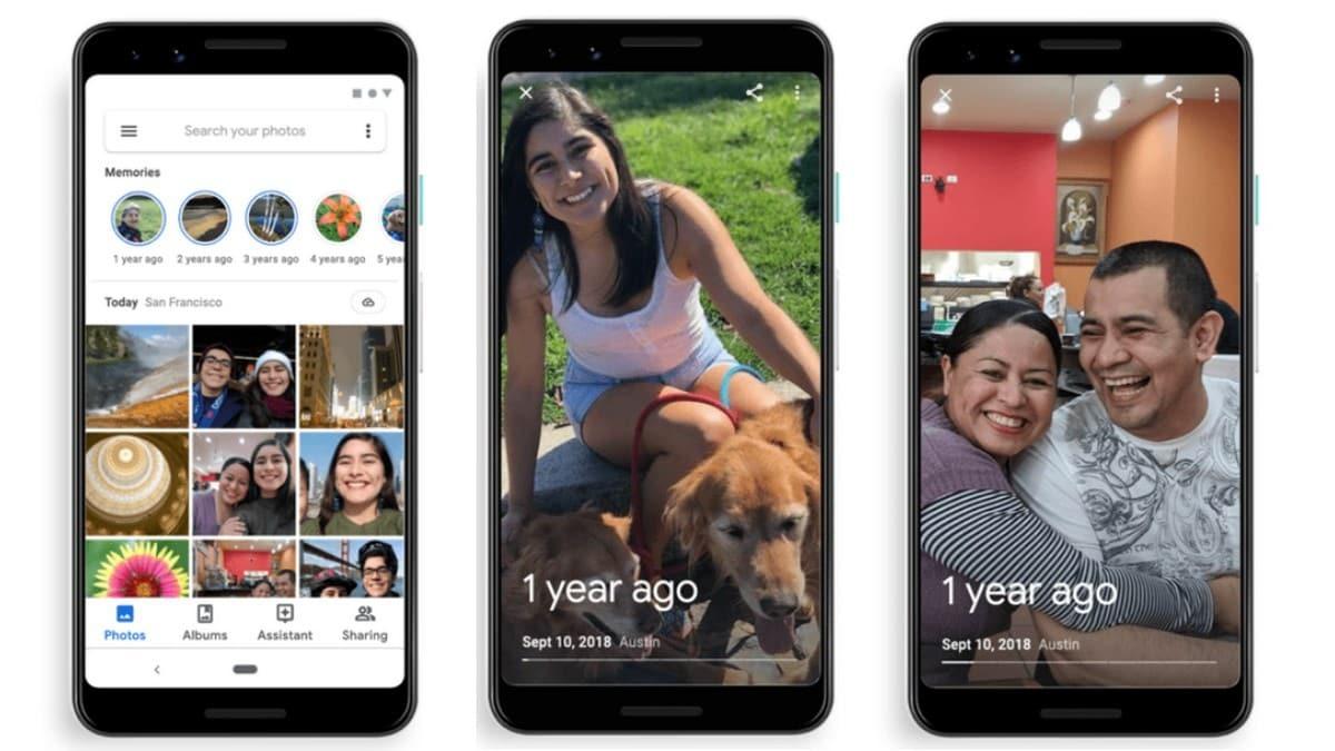 Google Photos Adds Instagram Stories-Like Memories Feature