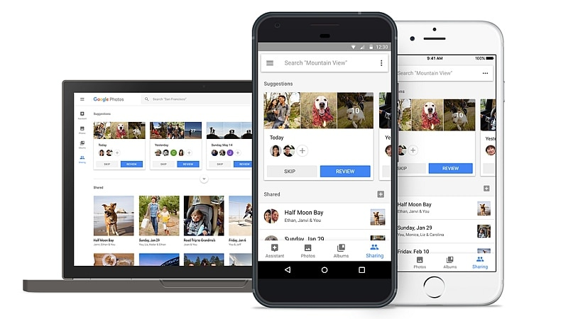 Google I/O 2017: Google Photos Gets Suggested Sharing, Sharing Libraries, and Photo Books