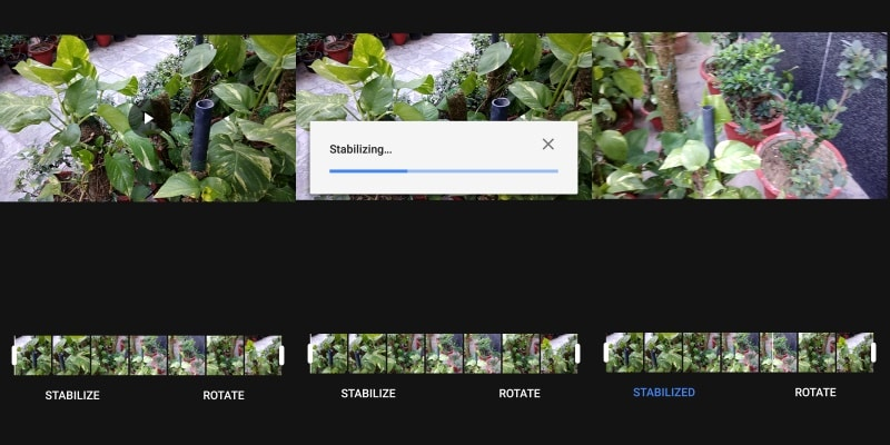Google Photos v2.13 for Android Brings Video Stabilisation Feature