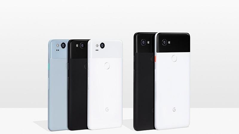 Google Pixel 2 और Google Pixel 2 XL स्मार्टफोन लॉन्च