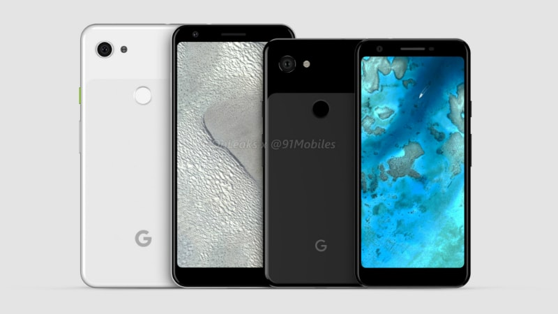 Pixel 3 Lite and Pixel 3 Lite XL appear online in 360-degree renders