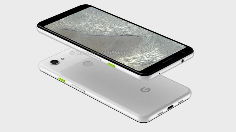 Google Pixel 3 Lite XL Renders Surface, Show Dual-Tone Finish, Notch-Less Display Besides Pixel 3 Lite