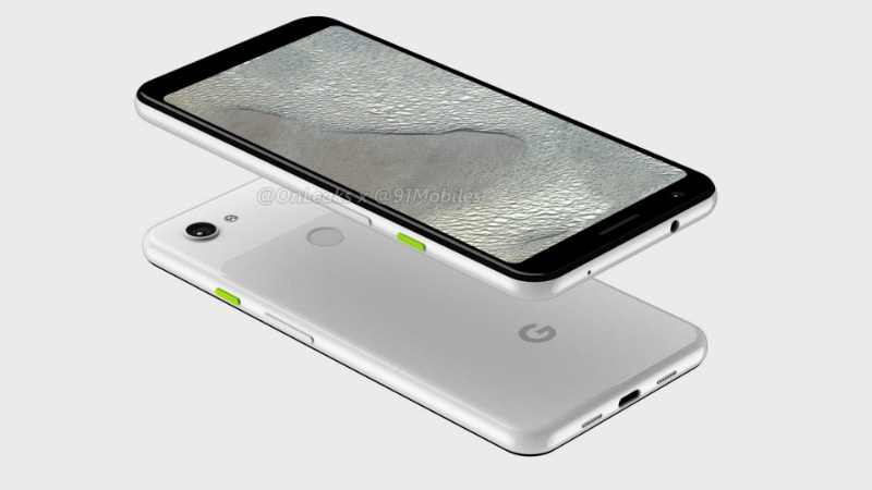 Google Pixel 3 Lite XL Renders Surface, Show Dual-Tone Finish, Notch-Less Display Besides Pixel 3 Lite