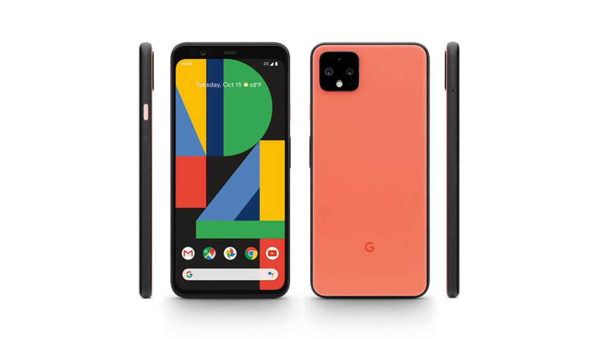 google pixel 4 xl oh so orange render twitter evan blass Google Pixel 4 XL  Pixel 4 XL