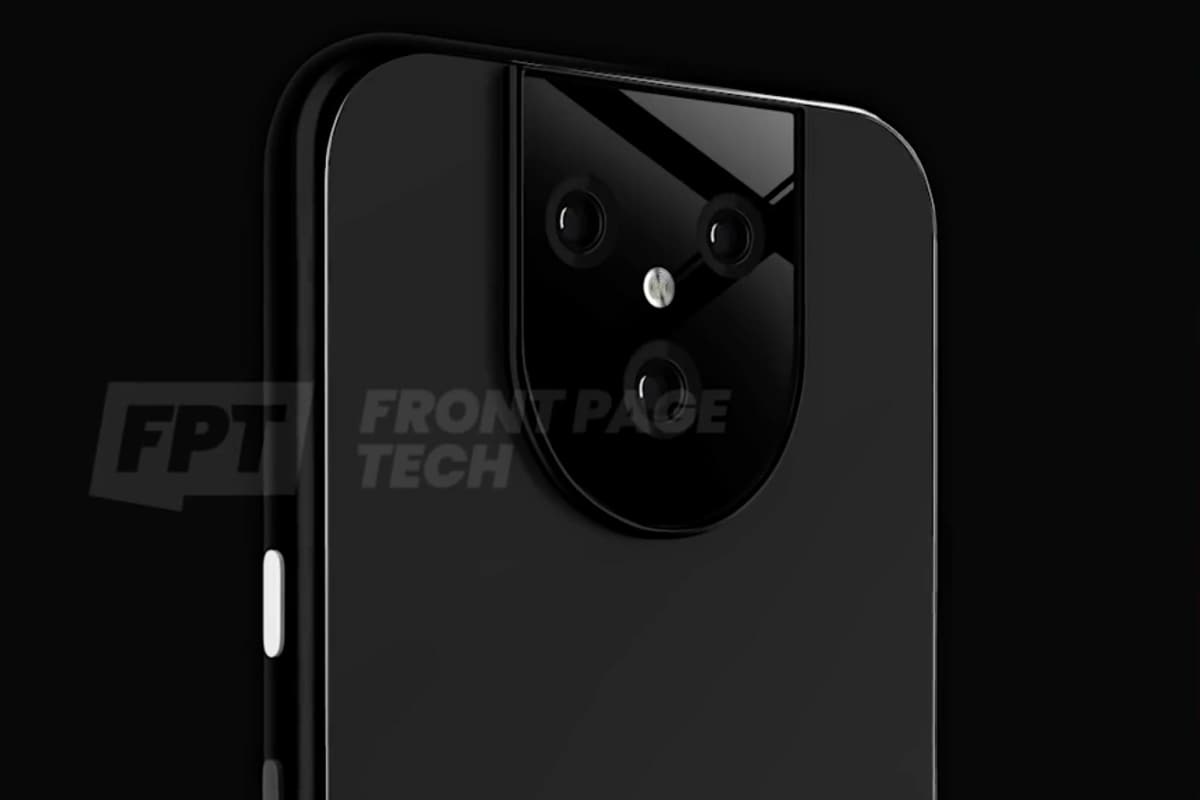 Google Pixel 5 XL Purported Render Surfaces Online, Triple Rear Cameras, Matte-Finish Glass Back Indicated