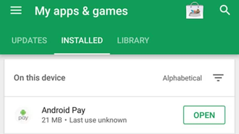 Google Play Reportedly Testing Revamped 'My Apps' Section With Sorting Option