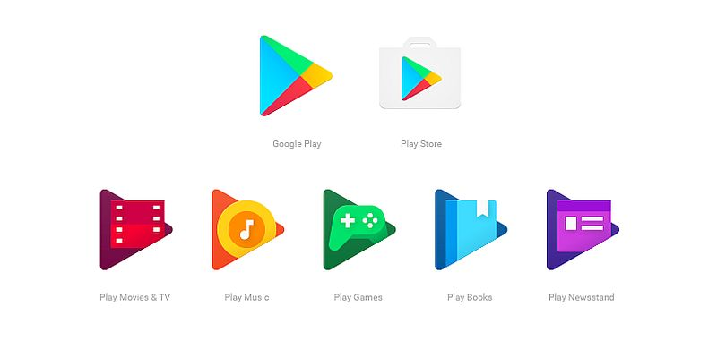 google play apps new icons google