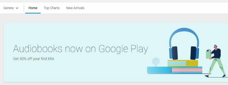 google audio book