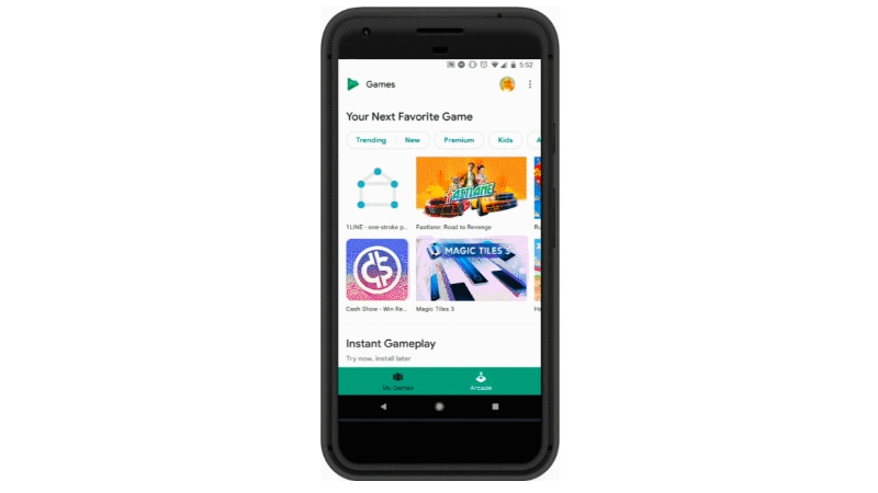 Google Play Instant Now Lets You Play Games Without Downloading Them on Your Phone