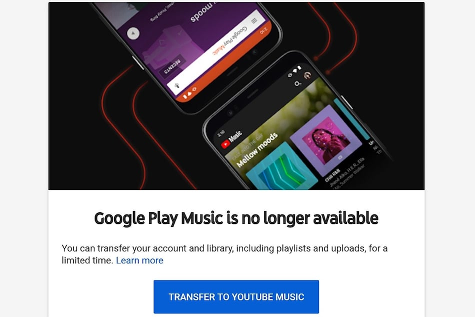Google Play Music Data Will Be Deleted On February 24 Here S How To Transfer To Youtube Music Technology News