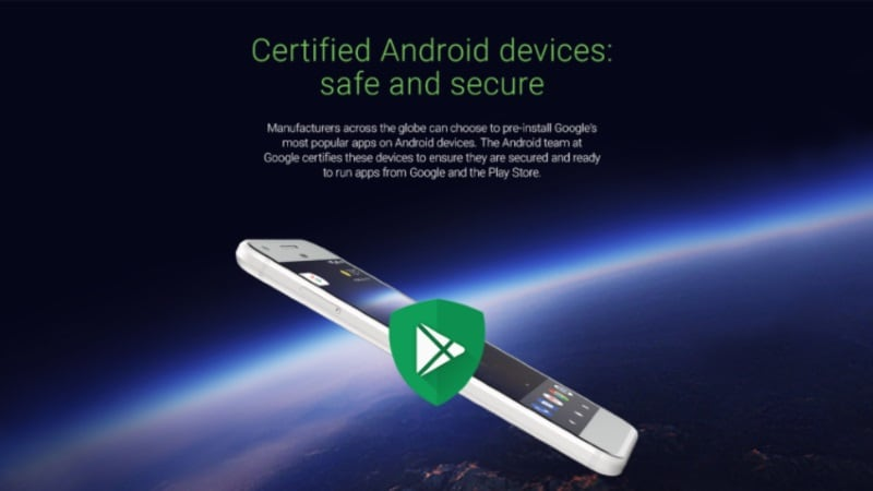 Google Play Protect Logo Will Now Be Shown on Google Certified Android Devices