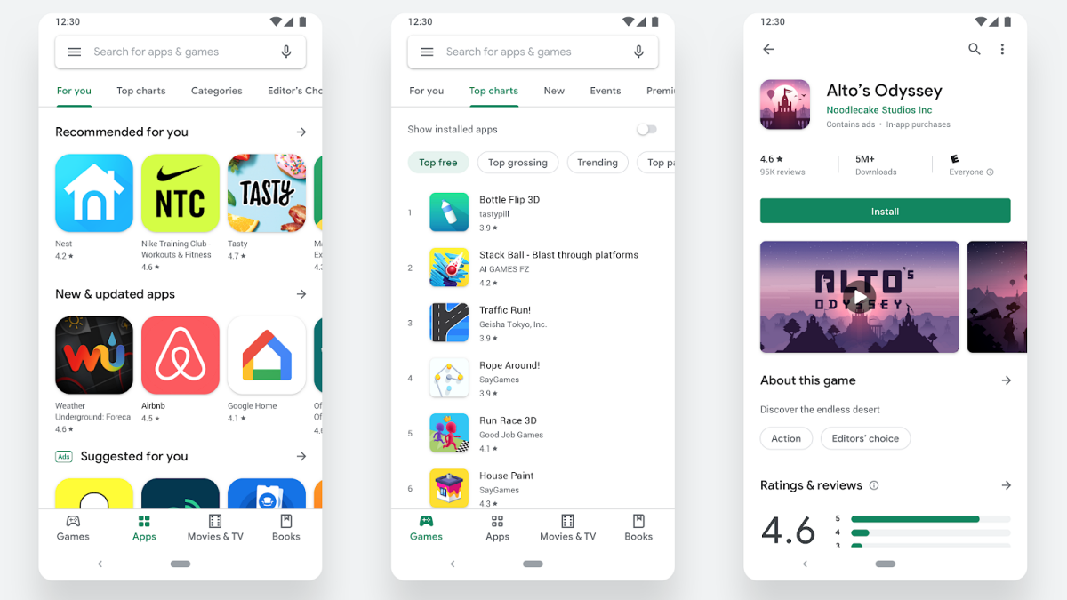 Google Play Store Redesign Now Rolling Out to All on Android, Chrome OS