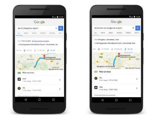 Now, Book Ola and Uber Cabs Directly From Google Search on Your Smartphone