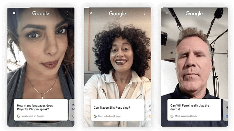 Google Search Celebrity Questions Will Now Be Answered Directly With Selfies