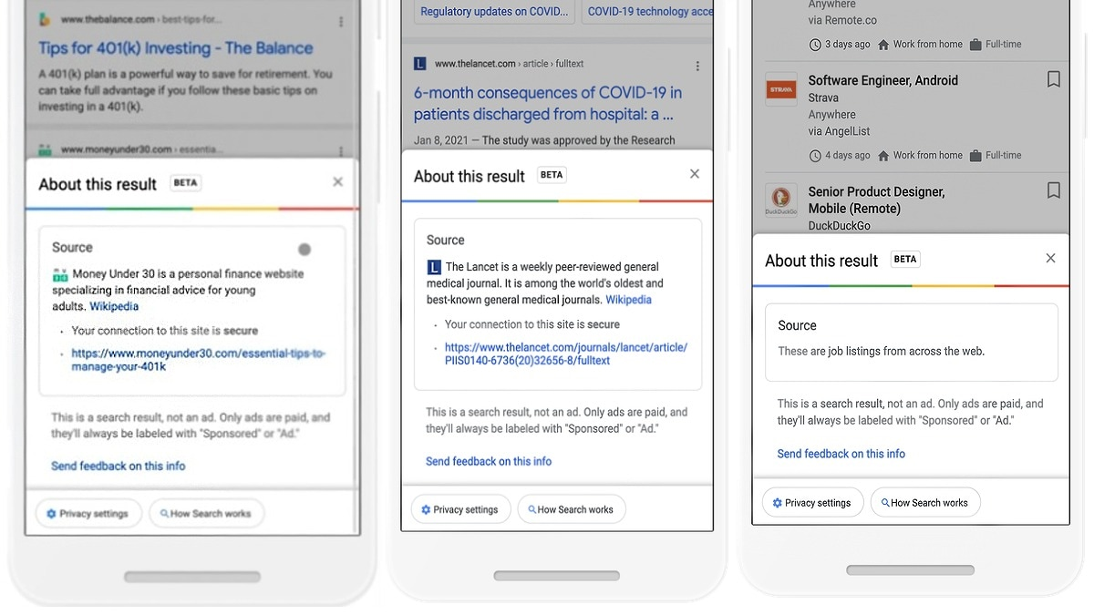 Google Is Changing Search To Give You More Info About The Results