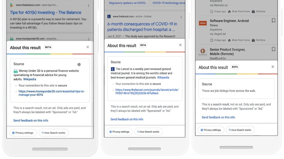 Google Introduces New Feature That Gives Users More Context About Websites in Search Results