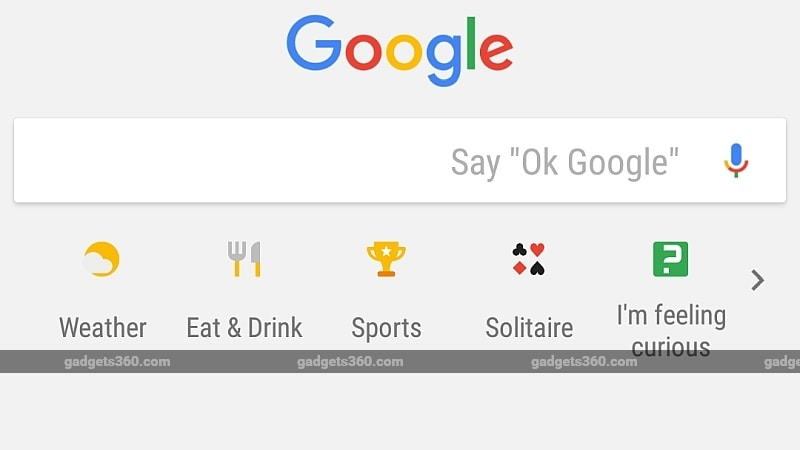 Google Search App in India Gets Weather, Cricket, and Other Shortcuts, as Well as Mini Games