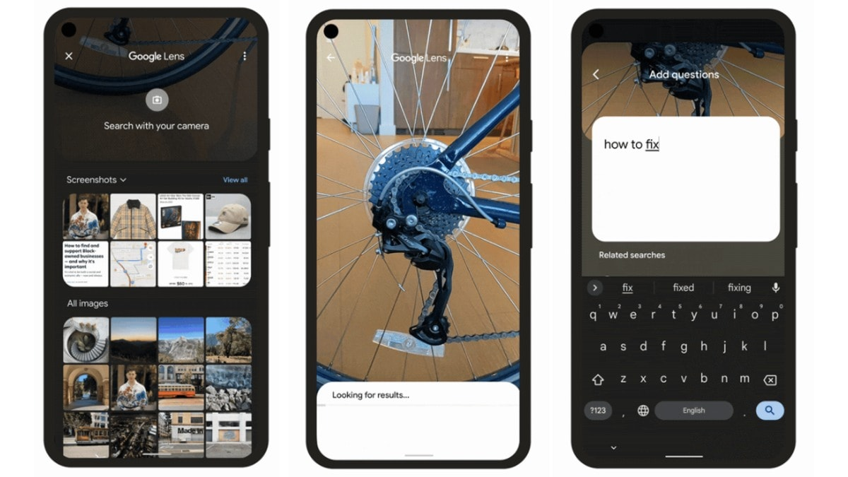google search visual text update Google Lens  Google Search  Google