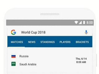 Google Search, Google News Get New Features for 2018 FIFA World Cup