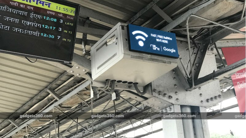 Google Station Wi-Fi Goes Paid at Select Rail Stations With Free High-Speed Access Restricted to 30 Minutes