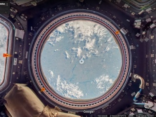 Google Street View Can Now Be Used to Explore the International Space Station