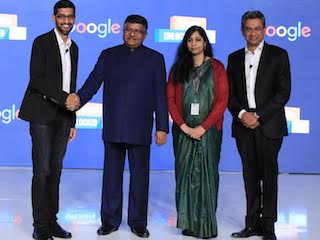 Sundar Pichai in India: IT Minister Wants Google to Tailor More Products to Local Needs