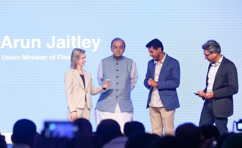 Jaitley launches Google's payments app for India 'Tez'