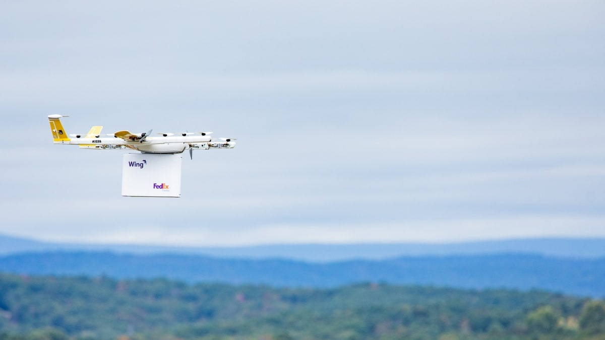Google Affiliate Wing Begins Drone Deliveries in Virginia Town