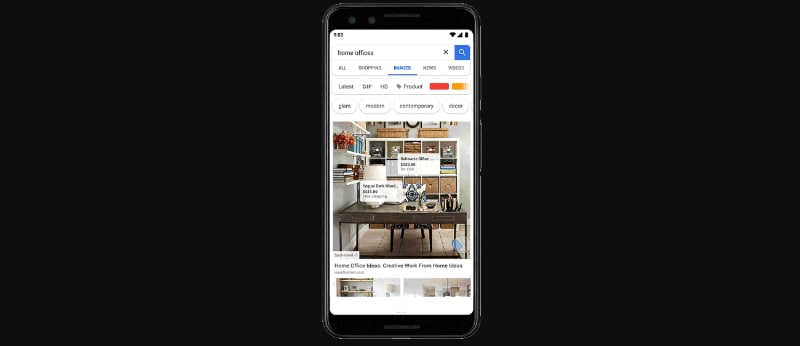 Google Testing Shoppable Ads in Image Search Results